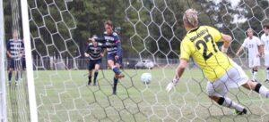Hughes Erupts in Vikings 5-0 Win over BSC