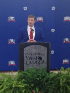 West Georgia names Hall new head football coach