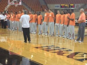 Mercer Madness Kicks of Mercer Basketball