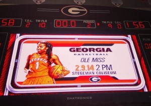 The Lady Dogs won 58-56 over Kentucky in Athens on Thursday before falling to Mississippi State on the road on Super Bowl Sunday