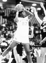 Vicky Bullett is Maryland's all time leading scorer and rebounder. Photo creds: cstv.com