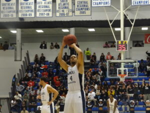 The GRU Augusta men's basketball team fall in the semifinals of the Peach Belt Conference Tournament, but still crack the NCAA tournament
