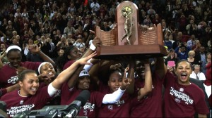 Gamecocks Capture First Ever SEC Championship in Women's Basketball