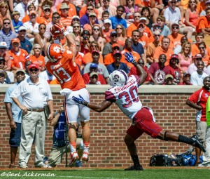 """Adam Humphries returns as one of Clemson's many options at WR. Photo Credit to """"The Tigernet""""."""