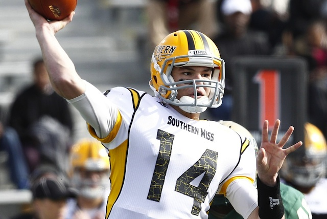 Nick Mullens threw for five touchdowns in the first Southern Miss win since 2011. (USATSI)
