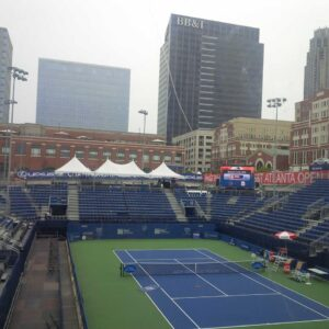 College Standouts & Tennis Prodigy Play BB&T Qualifier