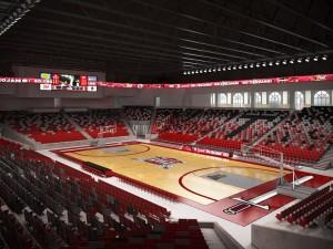 troy arena inside