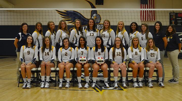 2014 Reinhardt Lady Eagles Volleyball Team