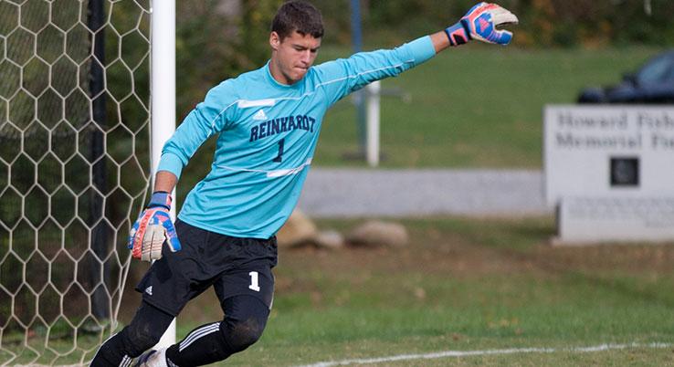 Senior goalkeeper Matt Amis.