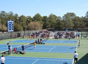 GSU Tennis Home- Opener: New Conference, New Coaches
