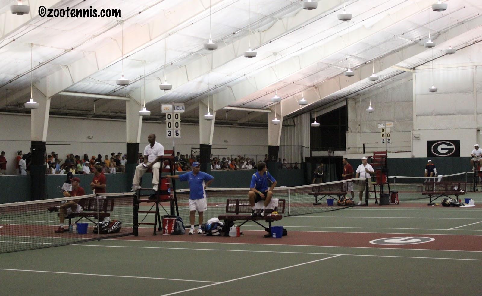 uga tennis indoors