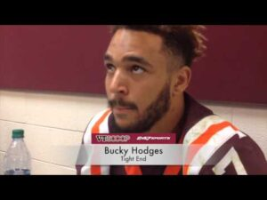 Hokies Tight End Bucky Hodges charged for Public Intoxication