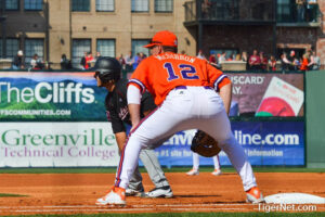 """Clemson and USC compete in the """"Reedy River Rivalry"""". Photo credit to Tigernet.com"""