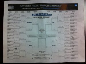 A-state sports anchor Eric Frazier's bracket
