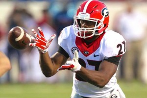 Nick Chubb will be The Guy for Georgia next season in a crowded, but extremely talented backfield. Image via bleacher report.com
