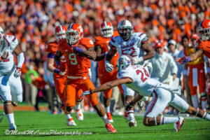Clemson looks to continue its perfect season with a rivalry win
