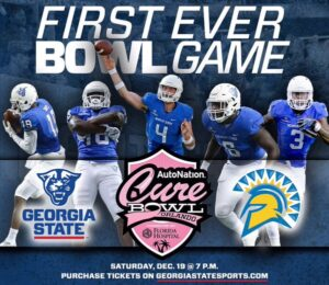 Ron and R.J. Hunter Sending 100 Georgia State Students to Cure Bowl