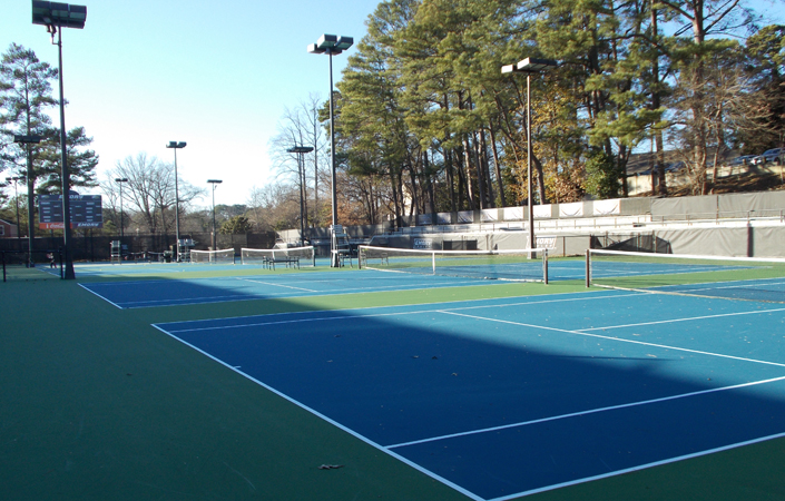 emory tennis courts