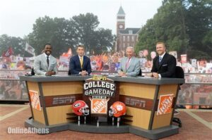'College Gameday' Returns to Clemson for Top 5 Matchup With Cards.