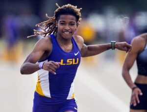 LSU's Hobbs, Stauber receive SEC postseason awards for track and field