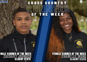 SIAC Announces Cross Country Weekly Honors