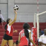 Taylor Prude goes on the attack against North Greenville University.