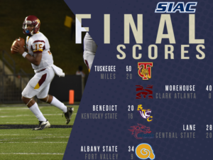 SIAC Football Recaps: November 4th