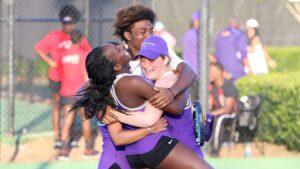 Benedict Sweeps Men and Women Tennis Championship Titles