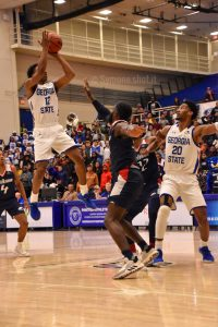 Georgia State squeezes past South Alabama 76-73, remains undefeated at home