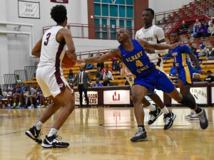 Albany State pushes past Morehouse College 80-72 in a tight battle at Forbes Arena