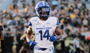Georgia State's Devin Gentry speaks about pro day performance